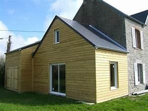 Garage Ossature Bois : agrandissement fabrique en ossature bois plus garage ~ Melissatoandfro.com Idées de Décoration