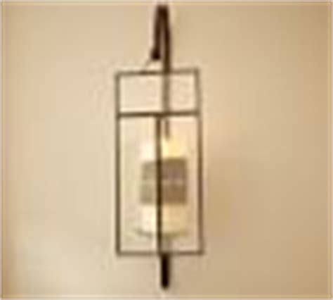 Candle Sconce Pottery Barn by Paned Glass Wall Candle Sconce Pottery Barn