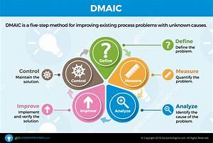 Lean Six Sigma  Step By Step  Dmaic Infographic