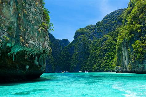 Escape To Paradise On Phi Phi Island On A Thailand