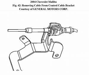 Transmission Shift Cable 2004 Chevy Malibu  I Have To Change My