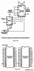 16 Channel Sequential Differential Mux Demux