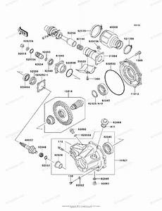 Kawasaki Atv 2003 Oem Parts Diagram For Drive Shaft