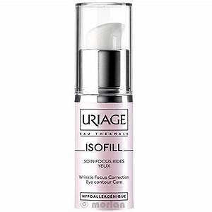Крем для век uriage уход против морщин для кожи вокруг глаз isofill