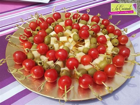 brochettes aperitives tomate olive fromage aperitif