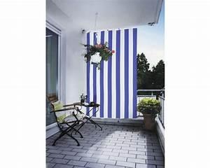 senkrecht sonnensegel blau weiss 230x140cm bei hornbach kaufen With französischer balkon mit sonnenschirm blau weiß