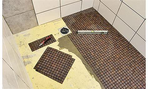 Begehbare Dusche Gefälle by Bodengleiche Dusche Selber Bauen Selbst De