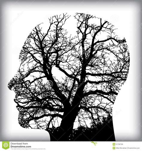 natural man   tree  stock vector image