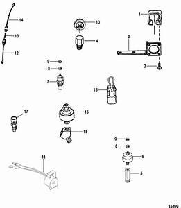 Senders  U0026 Sensors For Mercruiser  5 0l Efi Alpha    Bravo 5