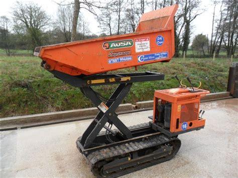 power wheelbarrow kg high tip tracked power barrow