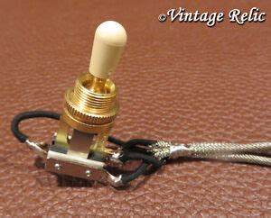Short Frame Wired Toggle Switch Way Switchcraft Gold Usa
