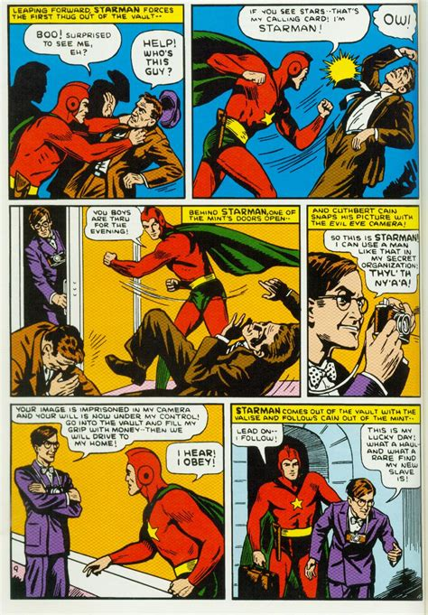 comic book page waryears