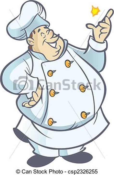 clipart cuisine gratuit clipart vettoriali di cuoco paffuto chef cartone