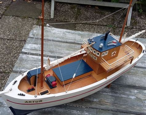 Fishing Boat Artur by Decorative Wooden Model Boat Artur Catawiki