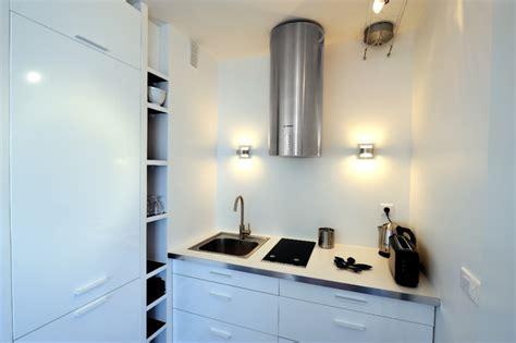 lights kitchen cabinets studio avec espace de couchage dissimul 233 contemporary 8391