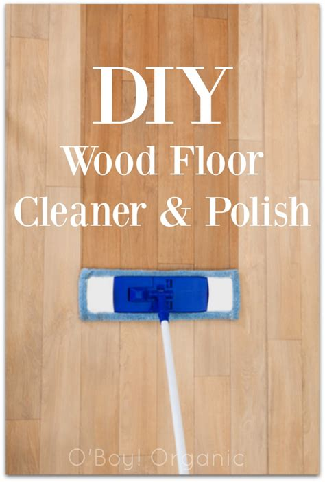 diy wood floor cleaner polish