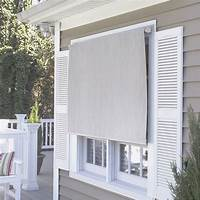outdoor window shades Coolaroo Premier Series Outdoor Roller Solar Shade & Reviews | Wayfair