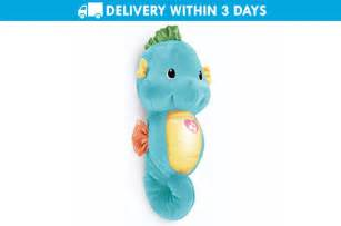 fisher price soothe glow blue sea horse promo
