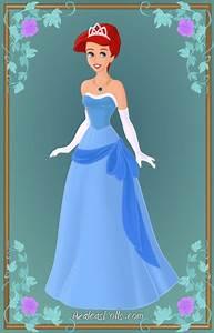 Ariel as Tiana4 by Javelaud on DeviantArt