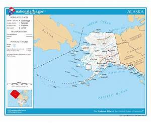 Maps of Alaska state | Collection of detailed maps of ...