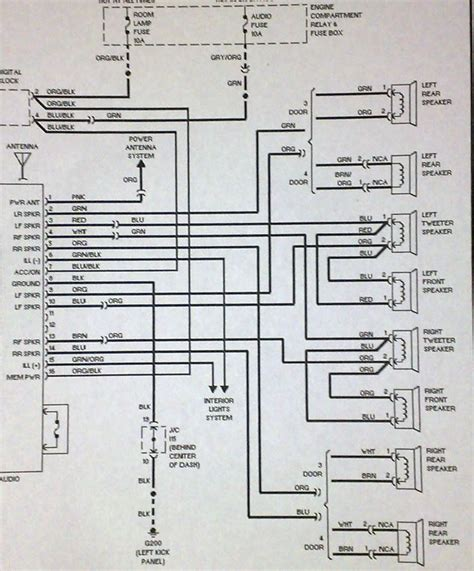 Hyundai Accent Stereo Wiring Diagram