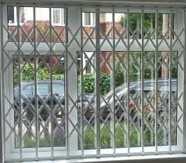 self installed security grilles safeguard security