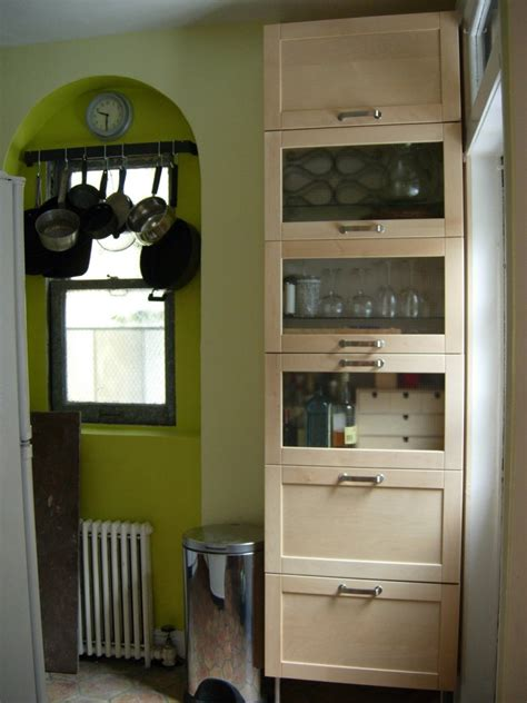 kitchen cabinet freestanding freestanding kitchen storage from wall cabinets ikea hackers 2514