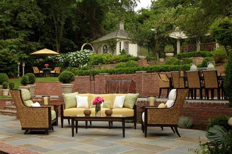 outdoor wicker furniture traditional birmingham by