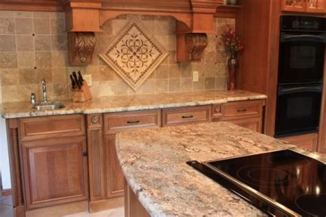 backsplashes that go with typhoon bordeaux granite
