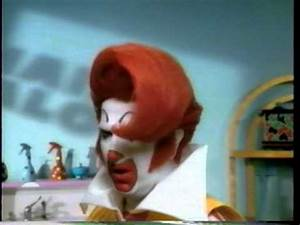 "90's Ads: McDonald's Ronald McDonald in ""A New Do"" - YouTube"