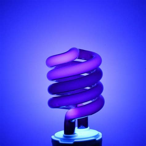uv lamp bulb   spiral enegy saving uv