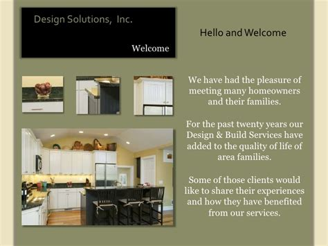 Interior Design Client Presentation Ppt