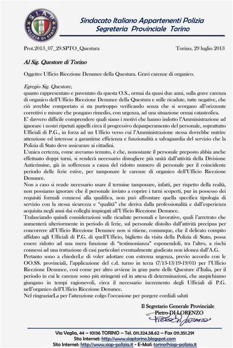 Ufficio Provinciale Lavoro Torino S I A P Segreteria Provinciale Torino Dicembre 2013
