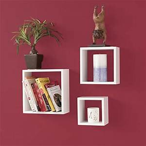 Wallniture modern home decor square cube floating wall