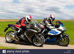 Bmw K 1300 S : motorcycles bmw k 1300 s hp and honda vfr 1200 f dct year of stock photo 85881895 alamy ~ Melissatoandfro.com Idées de Décoration