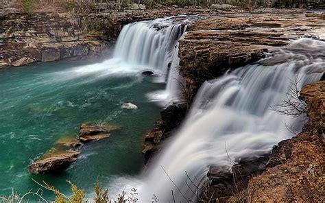 waterfall  river falls  river canyon national