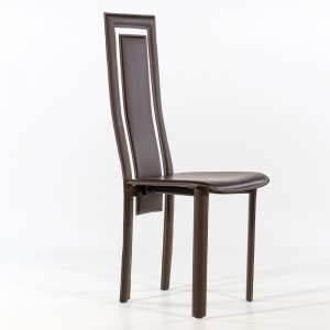 Chaise Salle A Manger Cuir : chaise contemporaine 4 pieds ~ Teatrodelosmanantiales.com Idées de Décoration