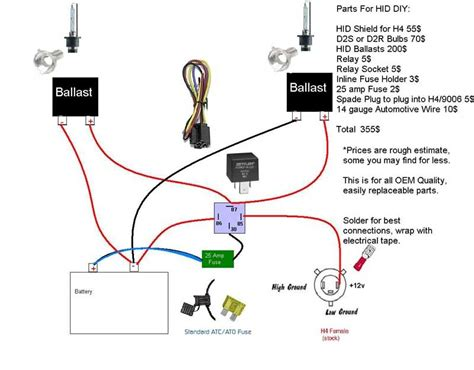 Basic Garage Wiring Diagram Legacy by Hid Install Mcculloch Page 2 Scionlife