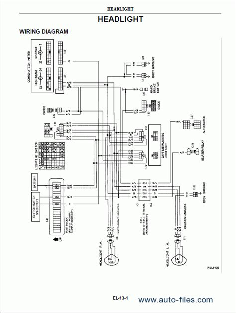 Ud Truck Diagram Wiring by Nissan Ud Trucks Repair Manuals Wiring Diagram
