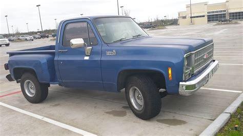 Chevy Swb Short Bed Stepside Pickup Truck