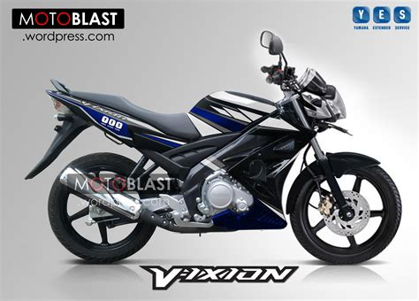 Modification Vixion 2013 by Modif Striping Yamaha Vixion Motoblast