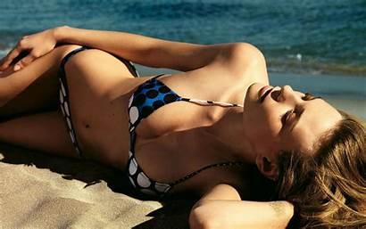 Beach Bikini Sea Desktop Wallpapers Models Micro