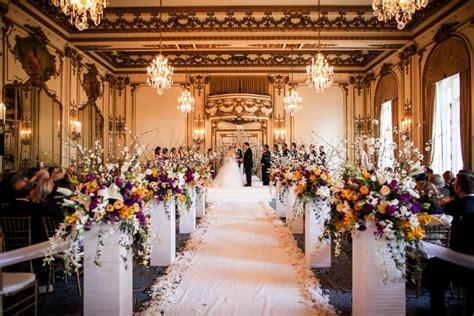 gold white  purple luxury wedding ornamento san