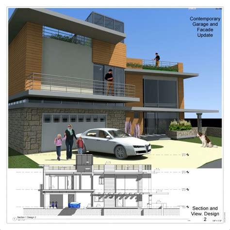 garage designed  anatolie gordeev contemporary garage