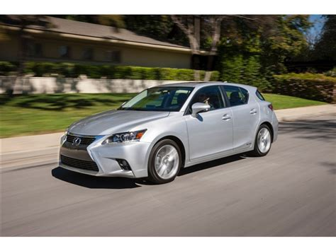 2015 Lexus Ct Hybrid Reviews Pictures And Prices U S