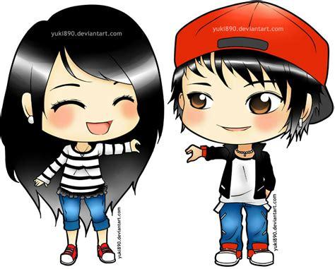 anime couple cute chibi cute anime chibi couples tumblr www pixshark com