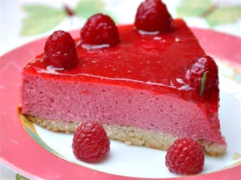 dessert a base de framboises bavarois aux framboises au thermomix cookomix
