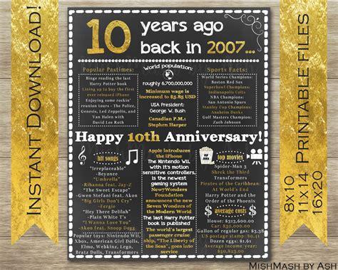 anniversary gift ideas  anniversary poster  anniversary sign happy