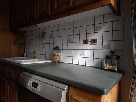 cuisine gris ardoise beautiful deco cuisine gris plan de travail ardoise photos