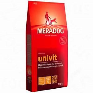 Hundefutter Mera Dog : meradog univit hundefutter zum top preis bestellen ~ A.2002-acura-tl-radio.info Haus und Dekorationen